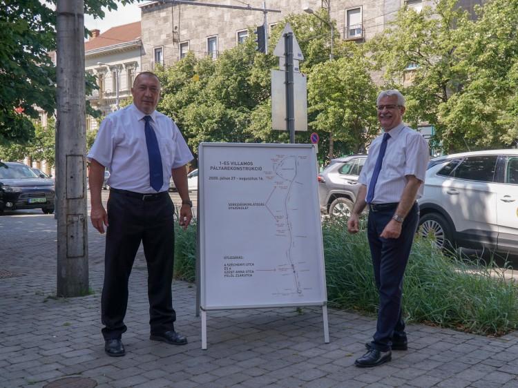 Lezárják Debrecen főutcáját augusztus közepéig