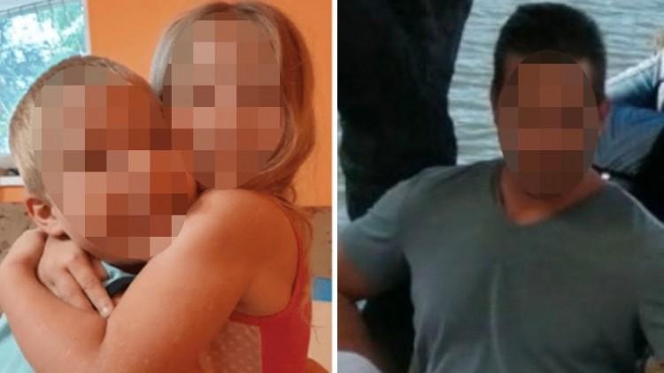 Símaszkos férfiak tartották fel az anyát, amíg az apa furgonba tuszkolta a gyerekeket