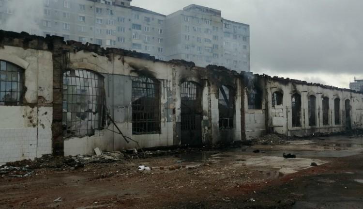 A lángok martalékává vált egy ipartörténeti műemlék Nagyváradon