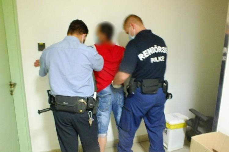 Ártándnál kapcsolták le a körözött román férfit