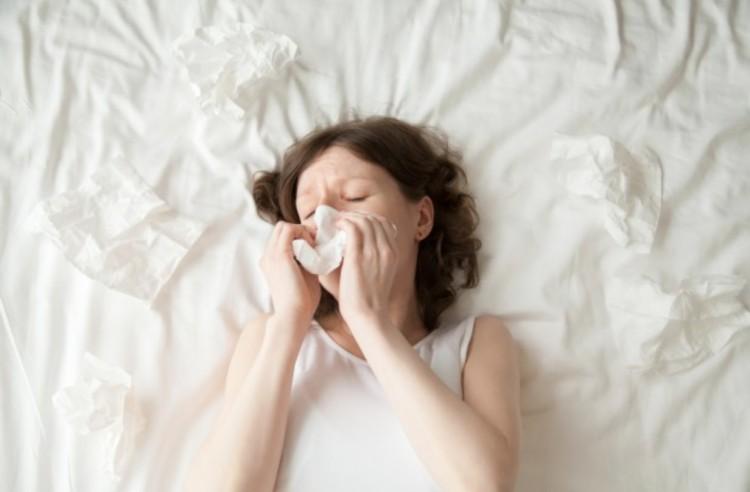 Nem koronavírus, hanem allergia!