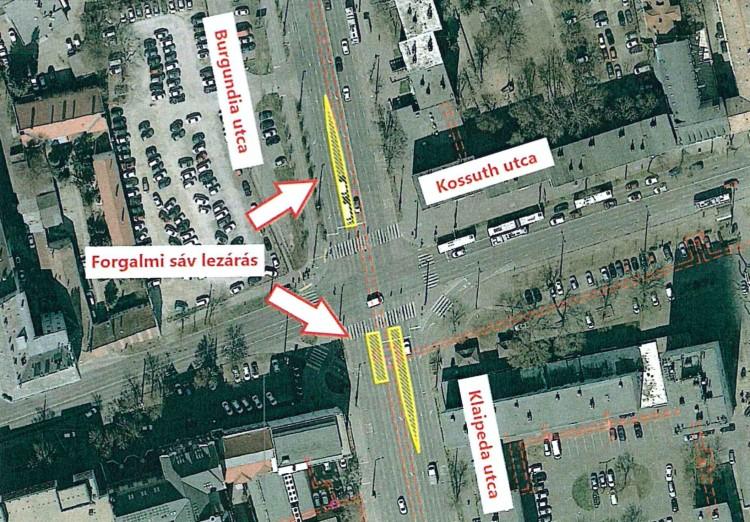 Újabb forgalomkorlátozásra kell készülni a debreceni belvárosban