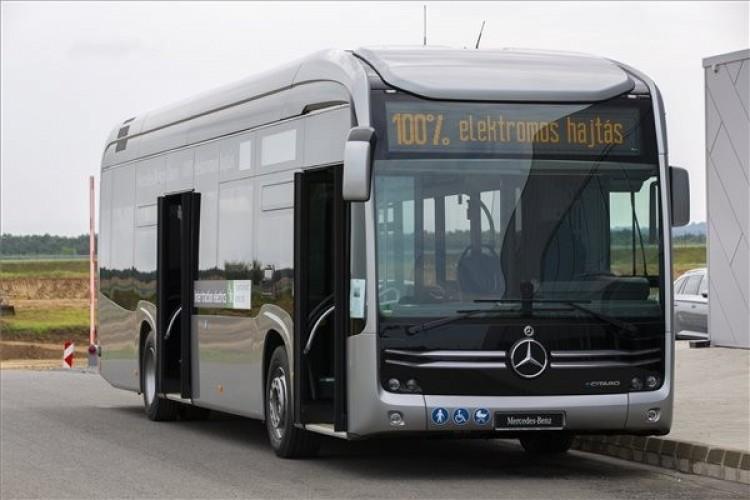 Nyíregyházán 800 millióból vesznek elektromos buszokat