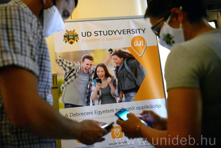 Egyedülálló és hiánypótló a Debreceni Egyetem új applikációja