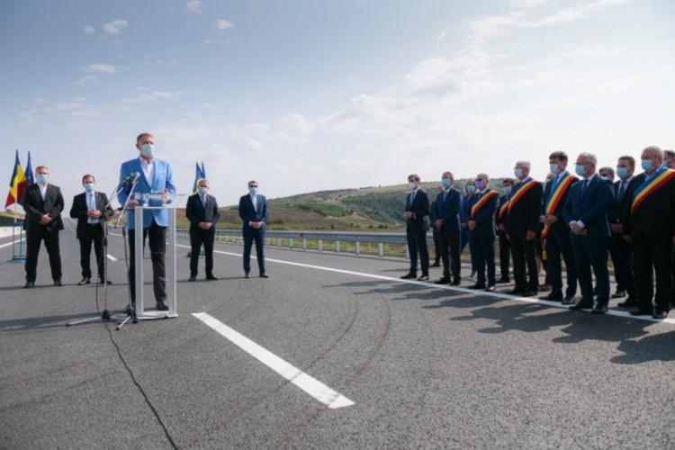 Román csigatempó: átadtak 18 kilométer autópályát Székelyföld felé
