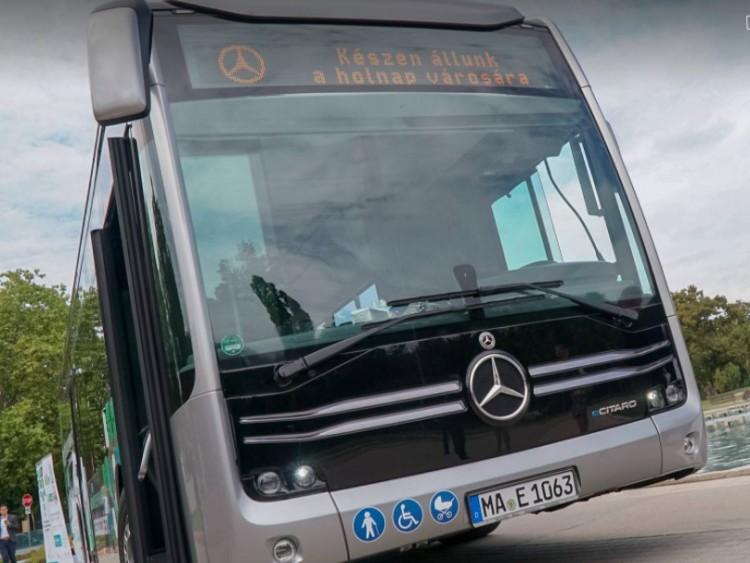 Bevált? Az elektromos Mercedes busz debreceni tesztelésének tapasztatai