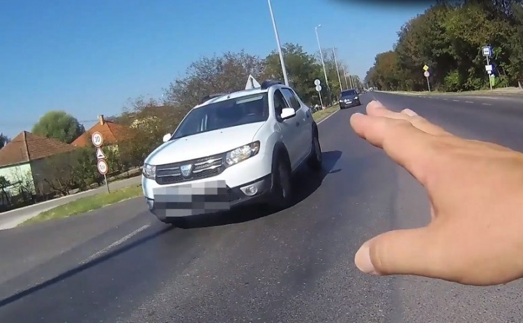 Ráfér még a magyar autósokra a Pofátlan(TAN)ítás - VIDEÓ!