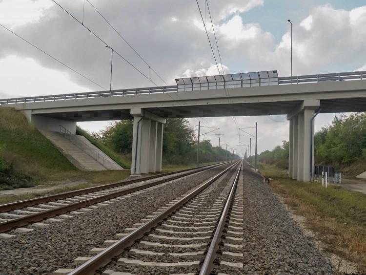 Újabb szakasz újult meg a Szolnok-Záhony vasútvonalon