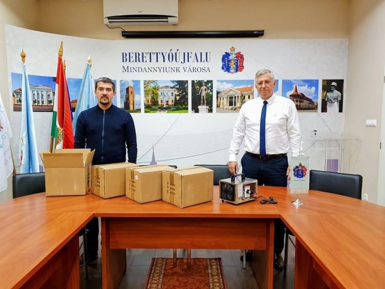 Ózongenerátorral fertőtlenítenek Berettyóújfaluban