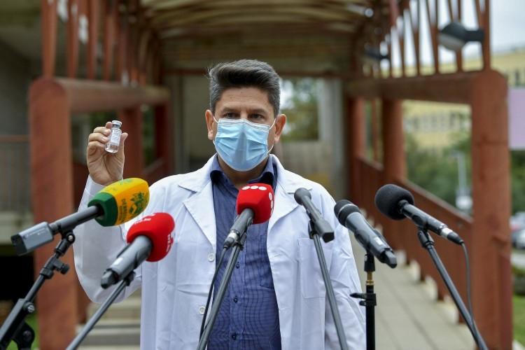 Debrecenben eddig hét koronavírus-betegen alkalmazták a Richter-féle remdesivirt