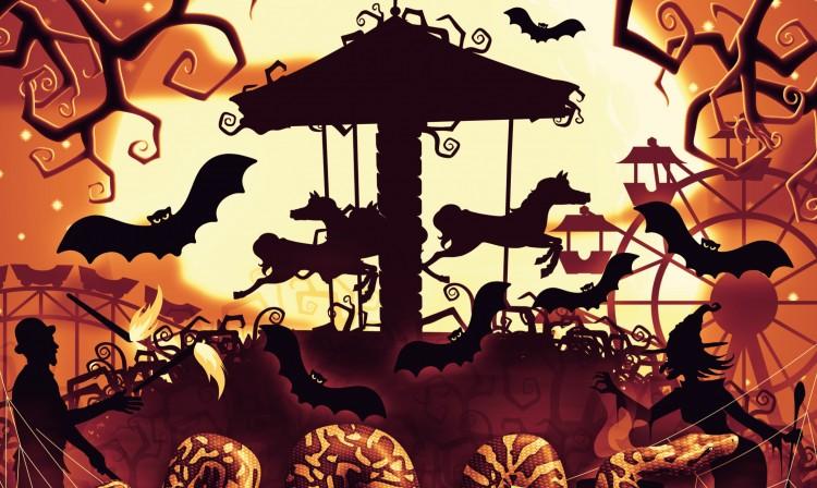 Halloweent rendeznek a Vidámparkban