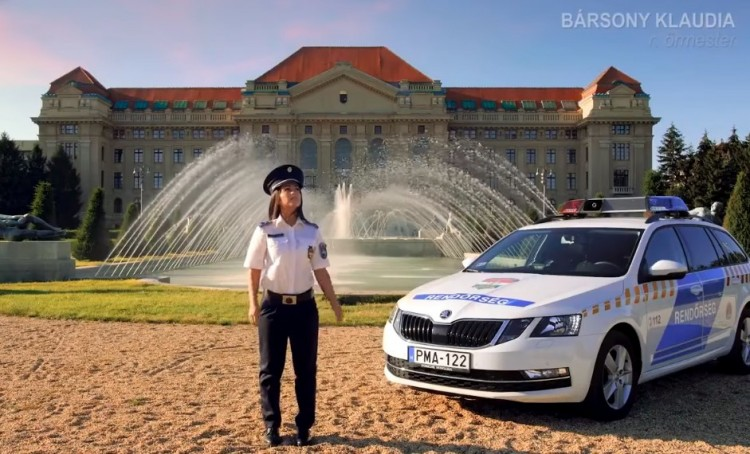Rendőrségi kihívás: legyen a debreceni helyszín a legszebb!