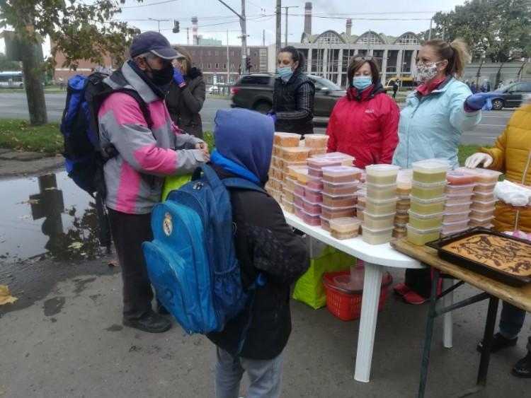 Ingyen járt az ebéd Debrecenben, a szegénység elleni küzdelem világnapján