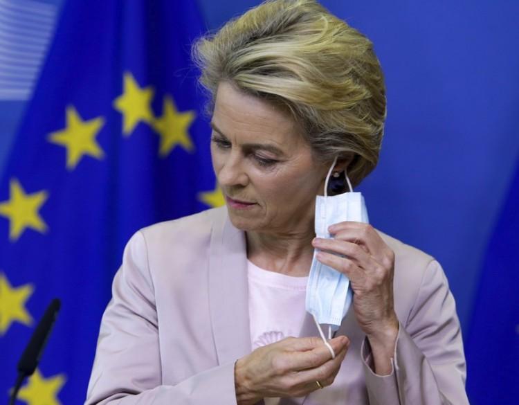 Ismét önkéntes karanténban Ursula von der Leyen