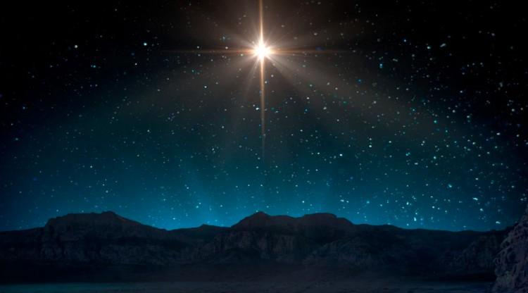 Több száz év után újra megjelenik a betlehemi csillag