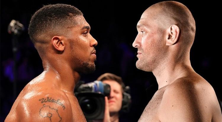 Érik a Tyson Fury-Anthony Joshua összecsapás