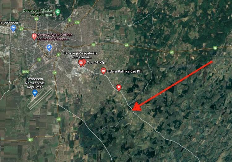 Nagy borulás Debrecen határában