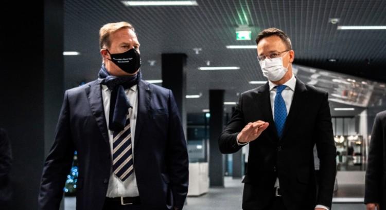 A Mercedes lesz az első, amely tisztán elektromos meghajtású autót gyárt Magyarországon