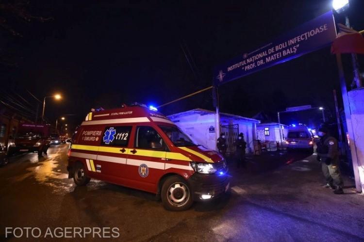 Négyen meghaltak a bukaresti kórháztűzben