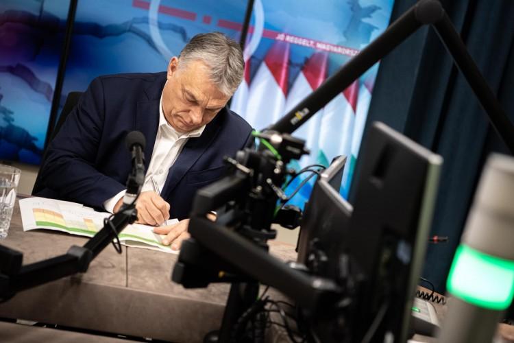 Orbán szerint mindannyian Müller Cecília kezében vagyunk