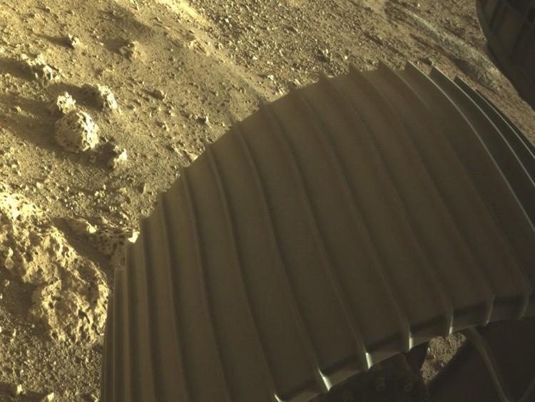 Újabb fotó érkezett a Marsról