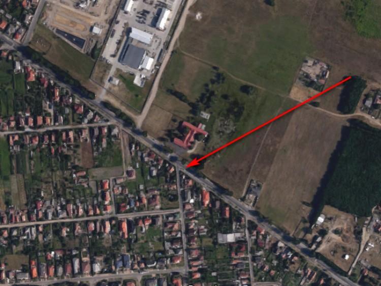 Kicsúszott egy autó Debrecen külvárosában