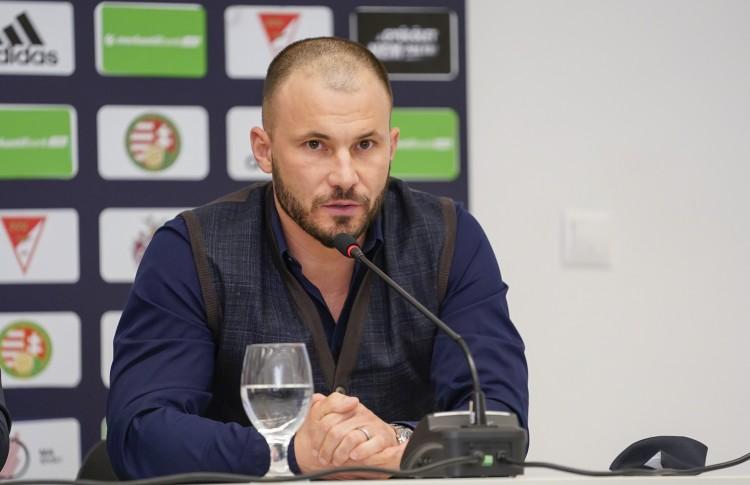 Huszti Szabolcs a Debrecen új vezetőedzője