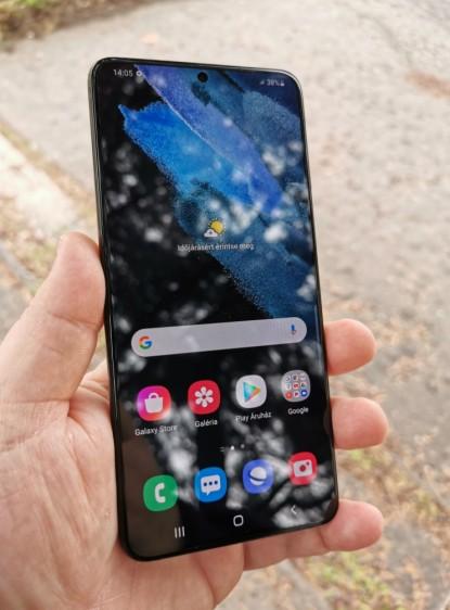 Mobilteszt: Samsung GalaxyS21+