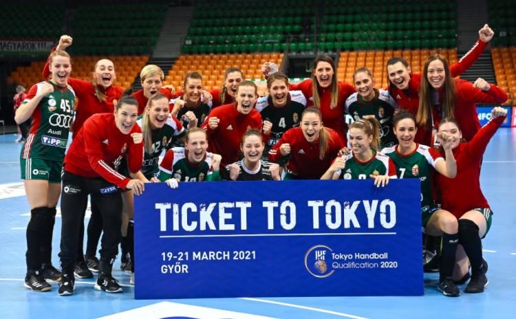 Kijutott az olimpiára a magyar női válogatott