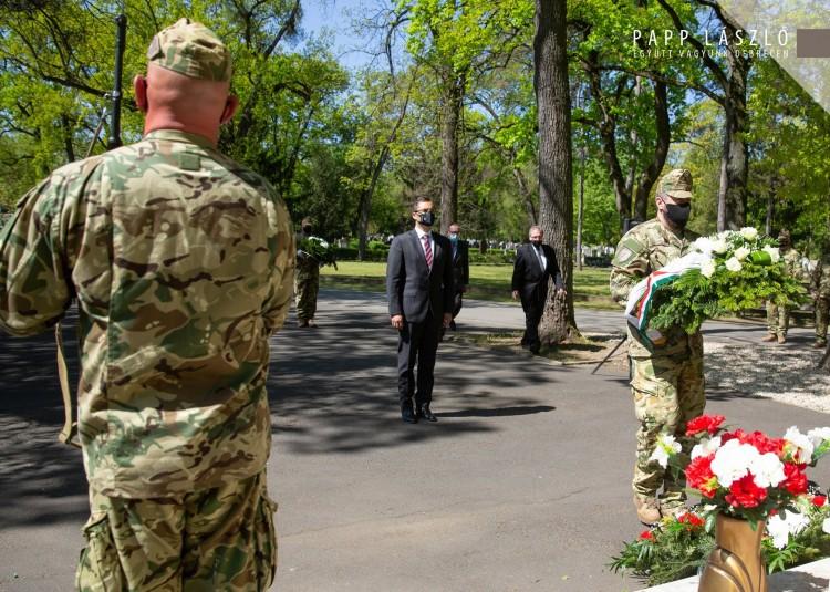 A II. világháború áldozataira emlékeztek Debrecenben