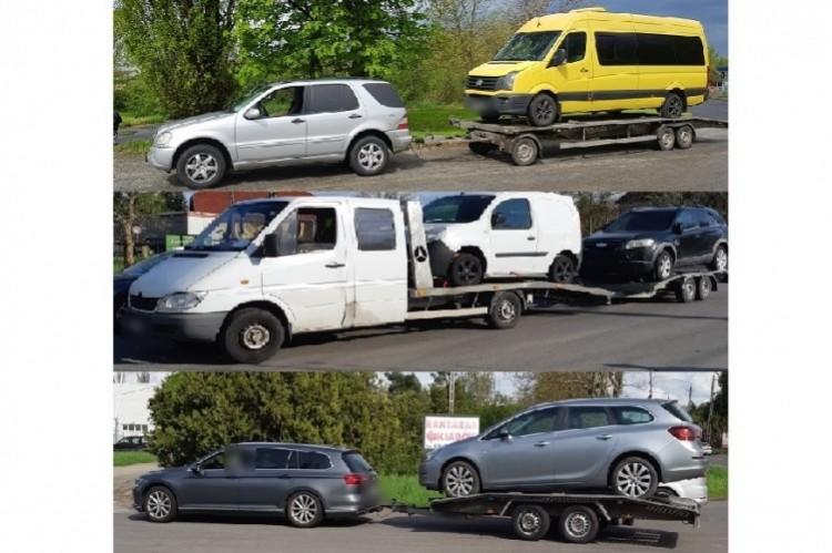 Újabb autóvontatókat büntettek meg Berettyóújfalu térségében
