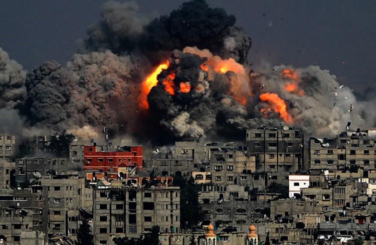 Az izraeli légierő letarolta Gázát