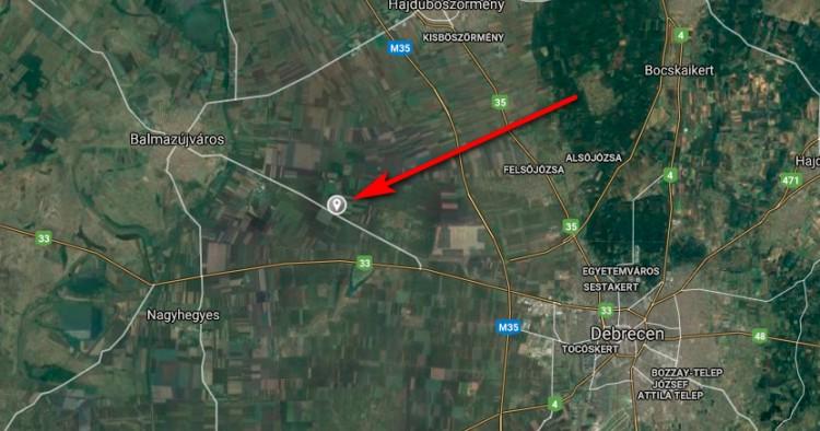 Karambol Balmazújváros és Debrecen között