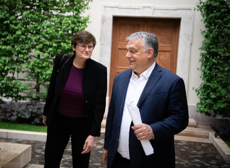 Személyesen mondott köszönetet Orbán Viktor Karikó Katalinnak