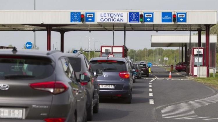 Új szabályt vezetnek be a horvát határátkelőhelyeken