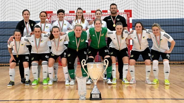 A DEAC nyerte a Női Futsal Magyar Kupát