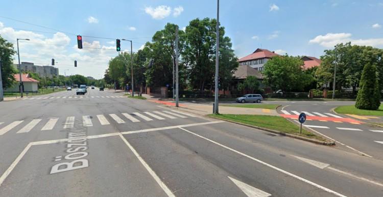 Karambol a 35-ös főúton, a Böszörményi úton