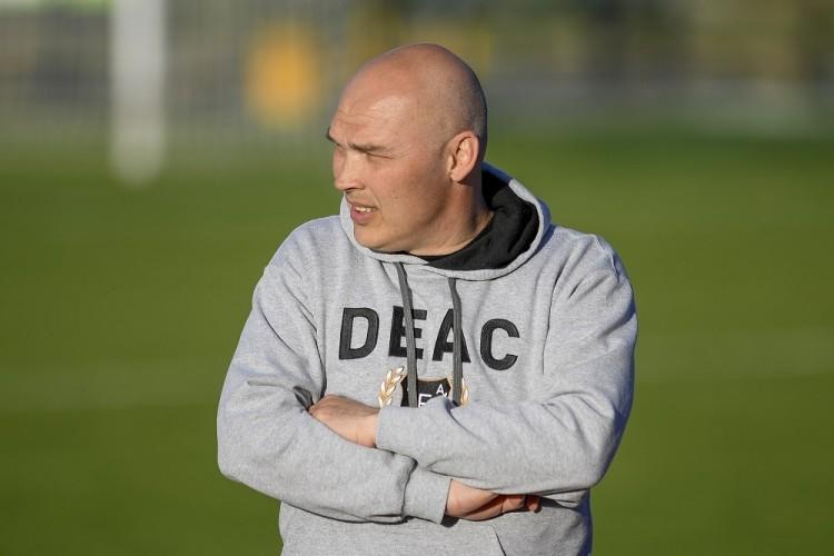 Már edzésben a DEAC futballistái