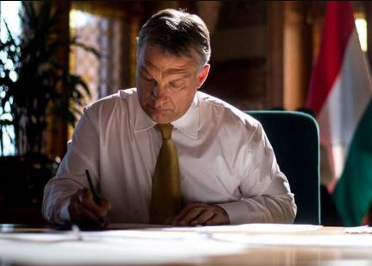 A szivárványról írt cikket a miniszterelnök