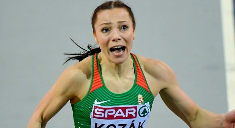 Kozák Luca a magyar sprintkirálynő