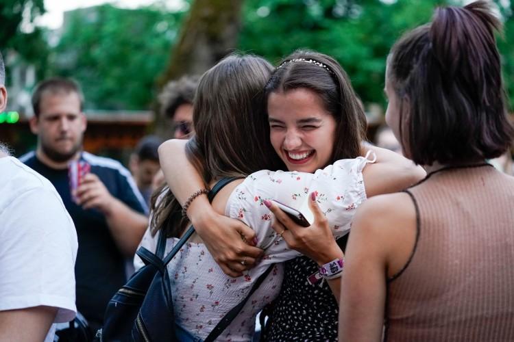 Ponthúzás: így örültek a felvettek Debrecenben