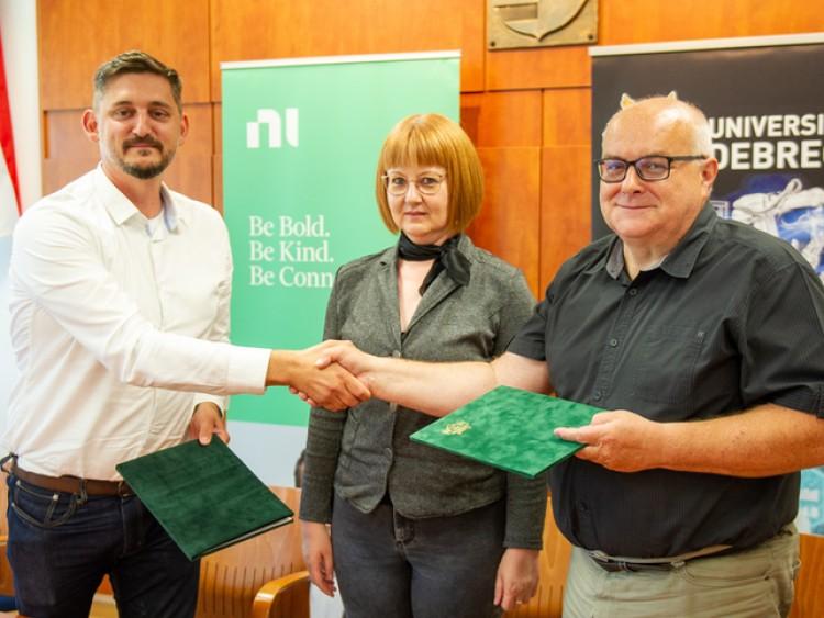 Amerikai vállalatnál lesz tanszéke a Debreceni Egyetemnek