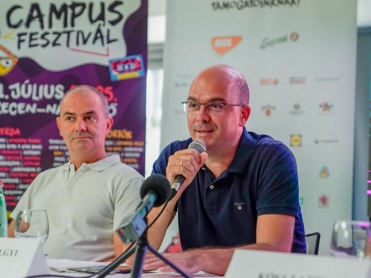 Miklósvölgyi Péter: a Campus Fesztivál a gondolkodó emberek jutalma
