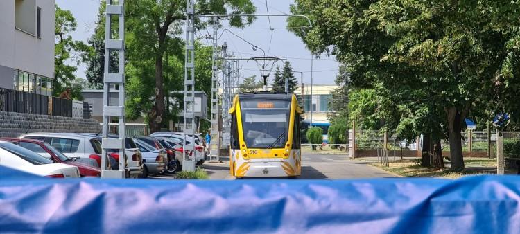 Különleges berendezéssel csökkentik a villamosbalesetek számát Debrecenben
