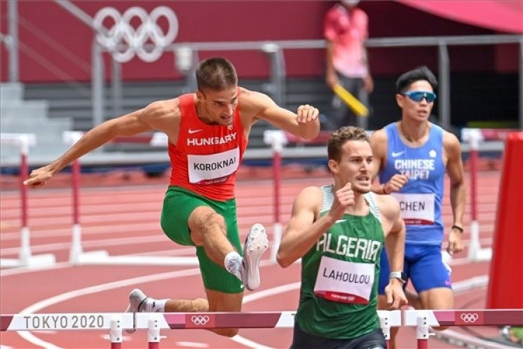 Tokió 2020: a debreceni futó kiesett 400 méter gáton