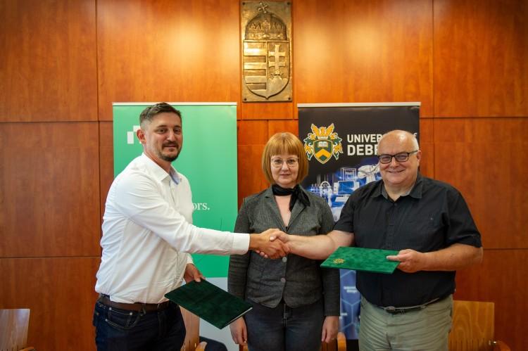 Debreceni Egyetem+NI: egy kitűnő kapcsolat új fejezete