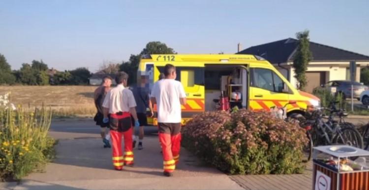 Életmentés Debrecen-Józsán: a pályán esett össze egy amatőr focista