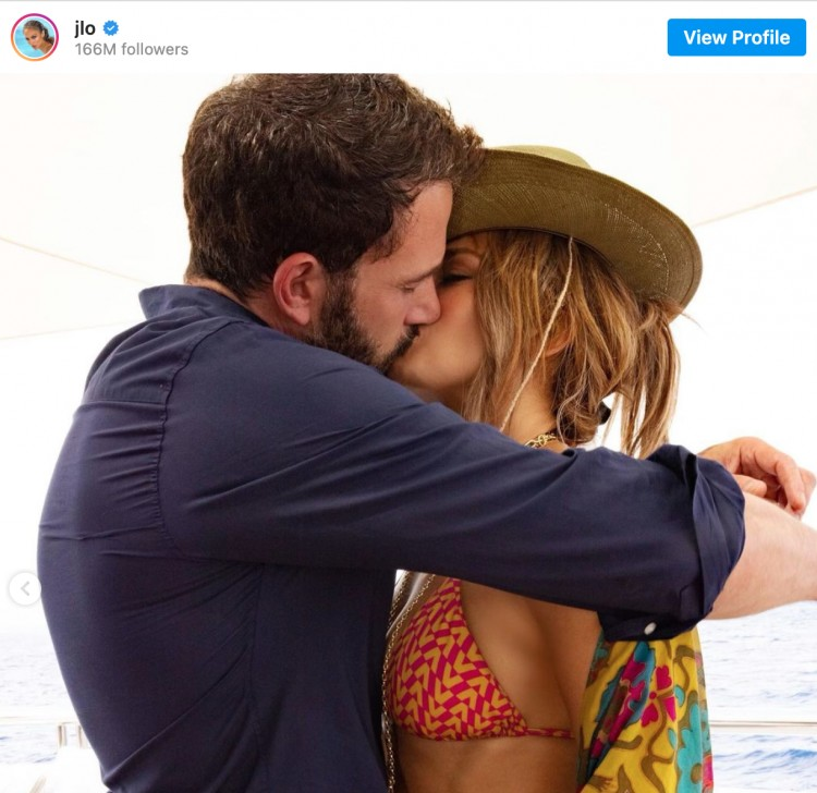Jennifer Lopez és Ben Affleck egy pár