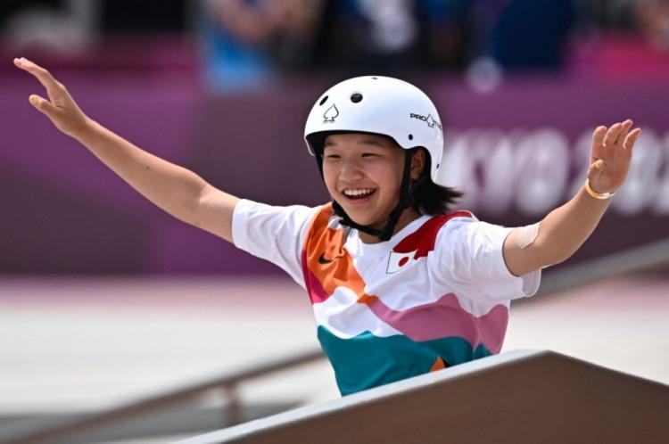 Tizenhárom éves lány nyert olimpiai bajnoki címet Tokióban