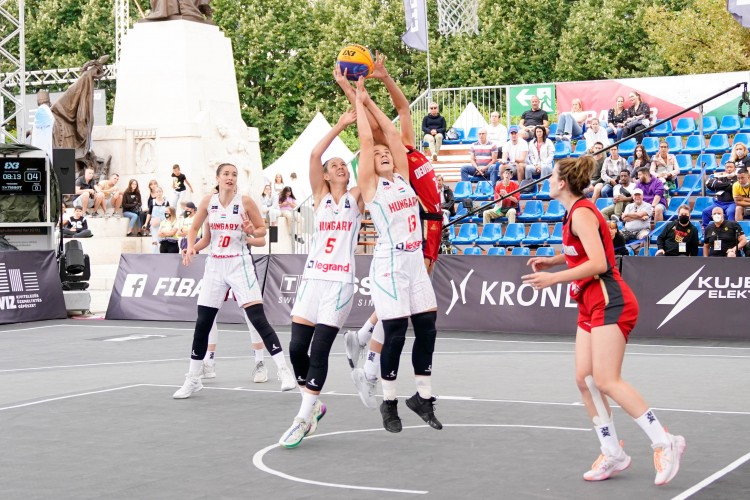 Magyar bronzérem a debreceni 3x3-as világbajnokságon +Fotók